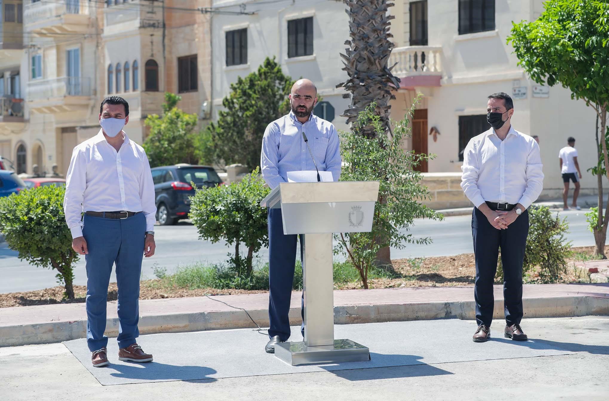 Proġett ġdid ta' urban greening b'investiment ta' €1.5 miljun